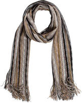 Missoni Striped Crochet Scarf