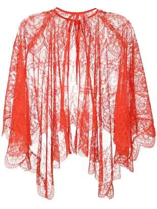 Maria Lucia Hohan lace cape scarf