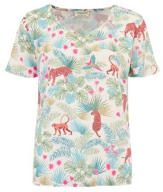 Sugarhill Boutique Tilda Daybreak Jungle Top Stone - 8