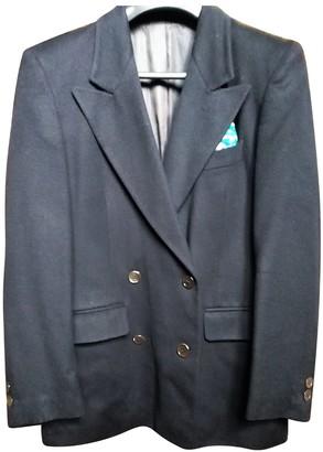 Henry Cotton Blue Cashmere Jacket for Women Vintage