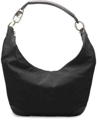 Gucci Pre-Owned Logo Clasp Shoulder Bag