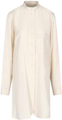 Lemaire Buttoned Shirt Dress