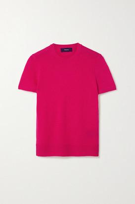 Theory Cashmere Sweater - Fuchsia