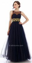 Nika Ruched Sweetheart Evening Dress