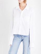 Vetements Social Worker cotton-poplin shirt