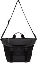 Givenchy Black Canvas Messenger Bag