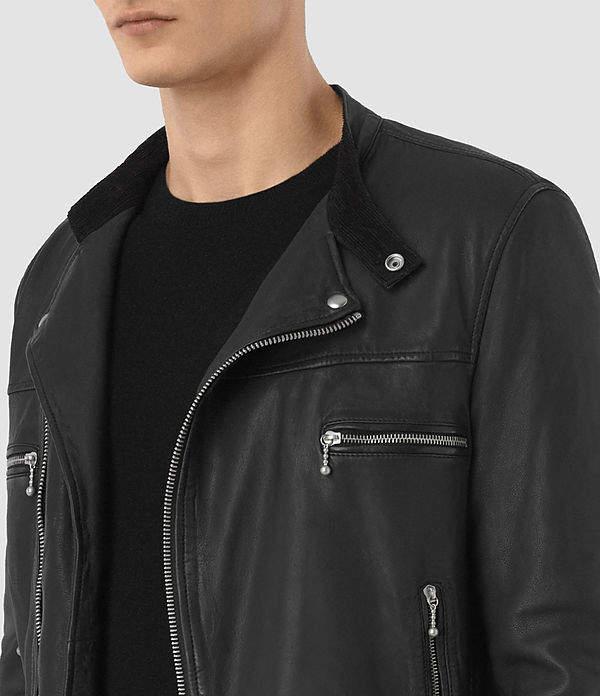 AllSaints Kline Leather Biker Jacket