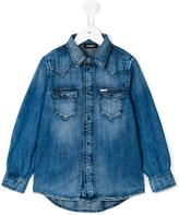 Diesel denim shirt - kids - Cotton/Spandex/Elastane - 8 yrs