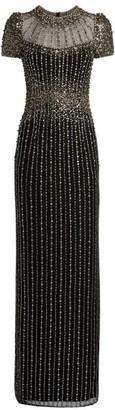Jenny Packham Crystal-Embellished Delilah Gown