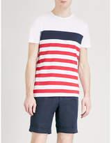 Tommy Hilfiger Nas Striped Cotton-jersey T-shirt