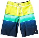 Quiksilver Boys' Colorblock Stretch Boardshorts - Sizes 4-7