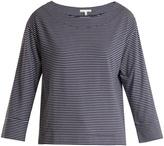SKIN Striped jersey pyjama top