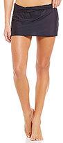 Antonio Melani Solid Banded Skirt