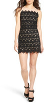 J.o.a. Sleeveless Lace Minidress