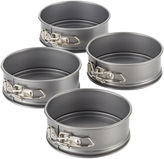JCPenney CAKE BOSS Cake BossTM Specialty Bakeware Set of 4 Nonstick Mini Springform Pans
