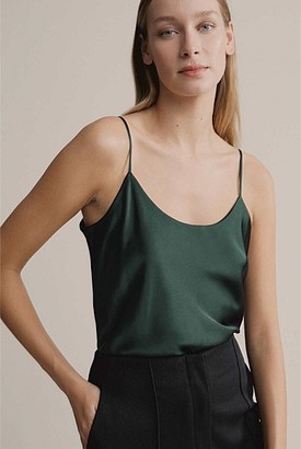Witchery Silk Scoop Neck Camisole