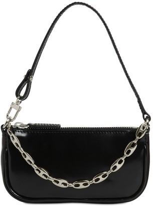 BY FAR Mini Rachel Patent Leather Bag