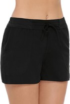 Croft & Barrow Women's Tummy Slimmer Woven Swim Shorts