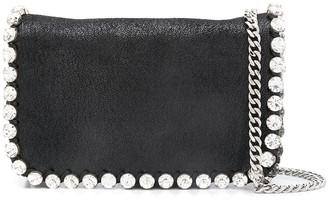 Stella McCartney Falabella crystal-embellished crossbody bag