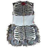 Moncler Zebra print Silk Dress