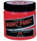 Manic Panic Semi Permanent Hair Dye Wildfire Red by