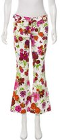 Seafarer Floral Mid-Rise Flared Jeans w/ Tags