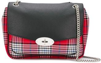 Mulberry Darley plaid shoulder bag