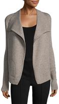 White + Warren Double Layer Wool Coat