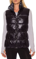 Betsey Johnson Reversible Printed Puffer Vest