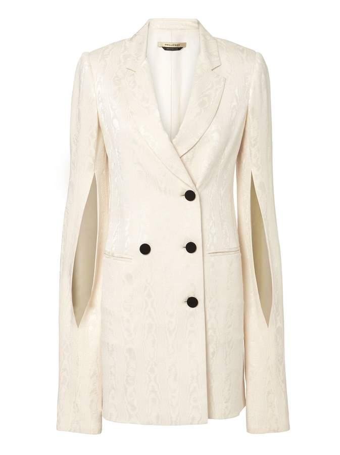 Hellessy Thatcher Ivory Blazer Dress