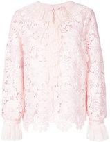 No.21 lace detail blouse