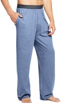 Hanes Men`s Solid Jersey Pant with Striped Comfort Flex Waistband