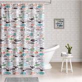 Asstd National Brand Madfish Cotton Shower Curtain