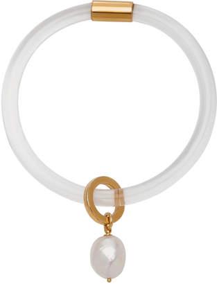 Lady Grey Drift Faux Pearl Bracelet