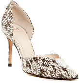 Marc Fisher Tammy Snake Embossed d'Orsay Pump