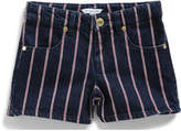 Little Marc Jacobs Girls Striped Denim Shorts (6-10Y)