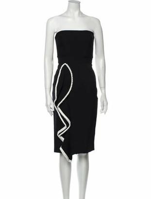 Alexis Strapless Mini Dress w/ Tags Blue