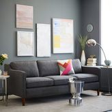 Hamilton Upholstered Sofa - Salt + Pepper (Tweed)