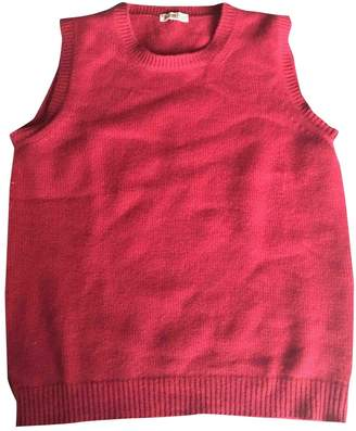 Malo Burgundy Wool Knitwear for Women