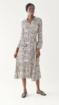 Thumbnail for your product : HVN Jane Button Down Shirtdress