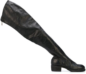Guidi Zipped Thigh High Boots