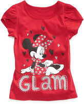 Macy's Disney Kids T-Shirt, Little Girls Minnie Mouse Tulip-Sleeved Tees