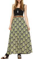 Minx Printed Maxi Skirt