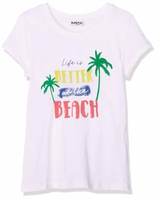 MEK Baby Girls T-Shirt Jersey M/C. CON Stampa