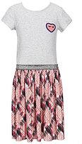 Jessica Simpson Big Girls 7-16 Teni Fit-and-Flare Plaid Dress