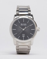 HUGO BOSS BOSS By Classic Stainless Steel Watch With Black Dial 1513398