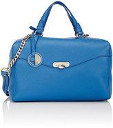 Versace WOMEN'S BOXY SATCHEL-BLUE