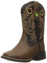 John Deere Chi Dist/Blk Brd SQ PO Pull-On Boot