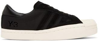 Y-3 Black Suede Yohji Star Sneakers