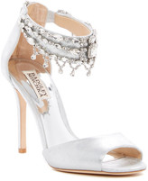 Badgley Mischka Denise II Crystal Embellished Sandal